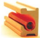 耐久性のあるセラミック製の電熱線溝