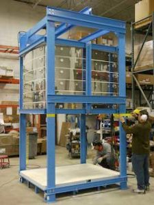 Jumbo-Bell-Liftの組み立て状況
