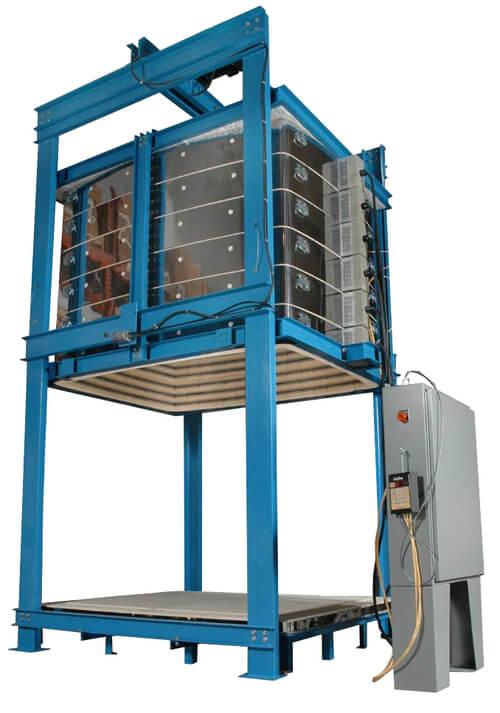 工業用電気窯ジャンボベルリフト