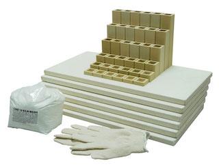 棚板・支柱 – 中大型電気窯(四角形)