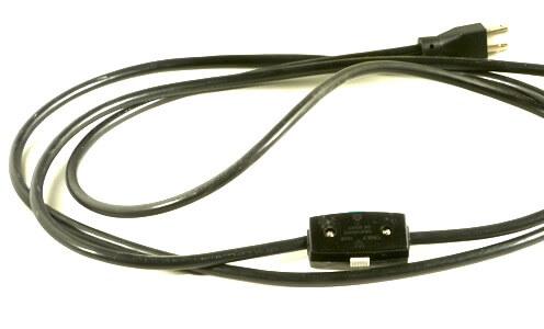 電気窯用ペントの電源ケーブル