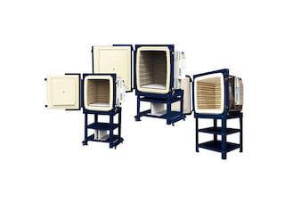 大型電気窯の横扉式