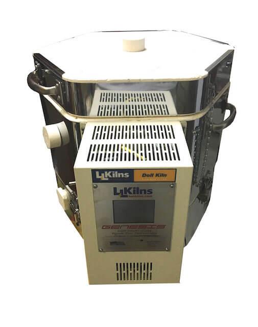コントローラーGENESIS搭載のドールテスト電気窯