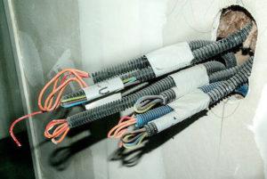 電気窯用の屋内配線