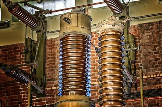 電気窯の電熱線イメージ