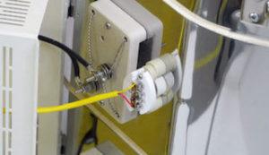 電気窯の電熱線固定ブロック