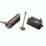 電気窯のリレー、熱電対、電熱線