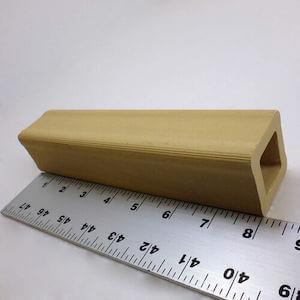 セラミック製中空四角柱の支柱-203mm