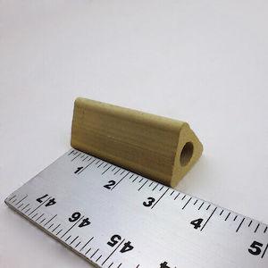 セラミック製中空三角柱の支柱-76mm