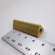 支柱 – 中空三角柱 – 高102.0mm×辺25.4mm