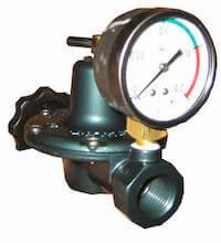 圧力調整器 – 小・中型窯用