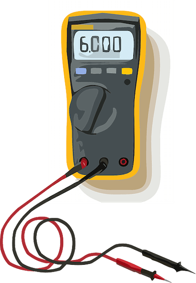 電気窯の抵抗値測定