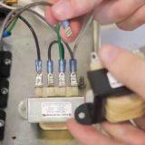 電気窯のトランス交換