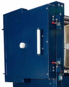 efl1616電気窯のドア外側