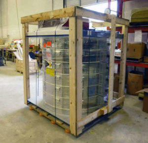 電気炉sp4354の梱包状態