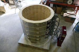 電気炉sp4354の炉内
