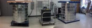 超電導システムの電気炉