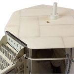 小型電気窯e1418Sの色味栓