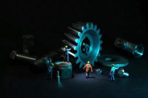 電気窯のメンテナンス、修理