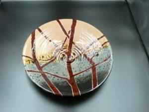 猪口様陶芸作品 皿-1